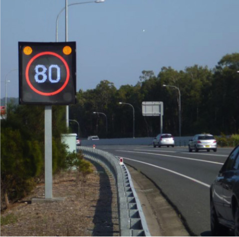 Variable Speed Limit Signs <br/>(Text & Graphics)
