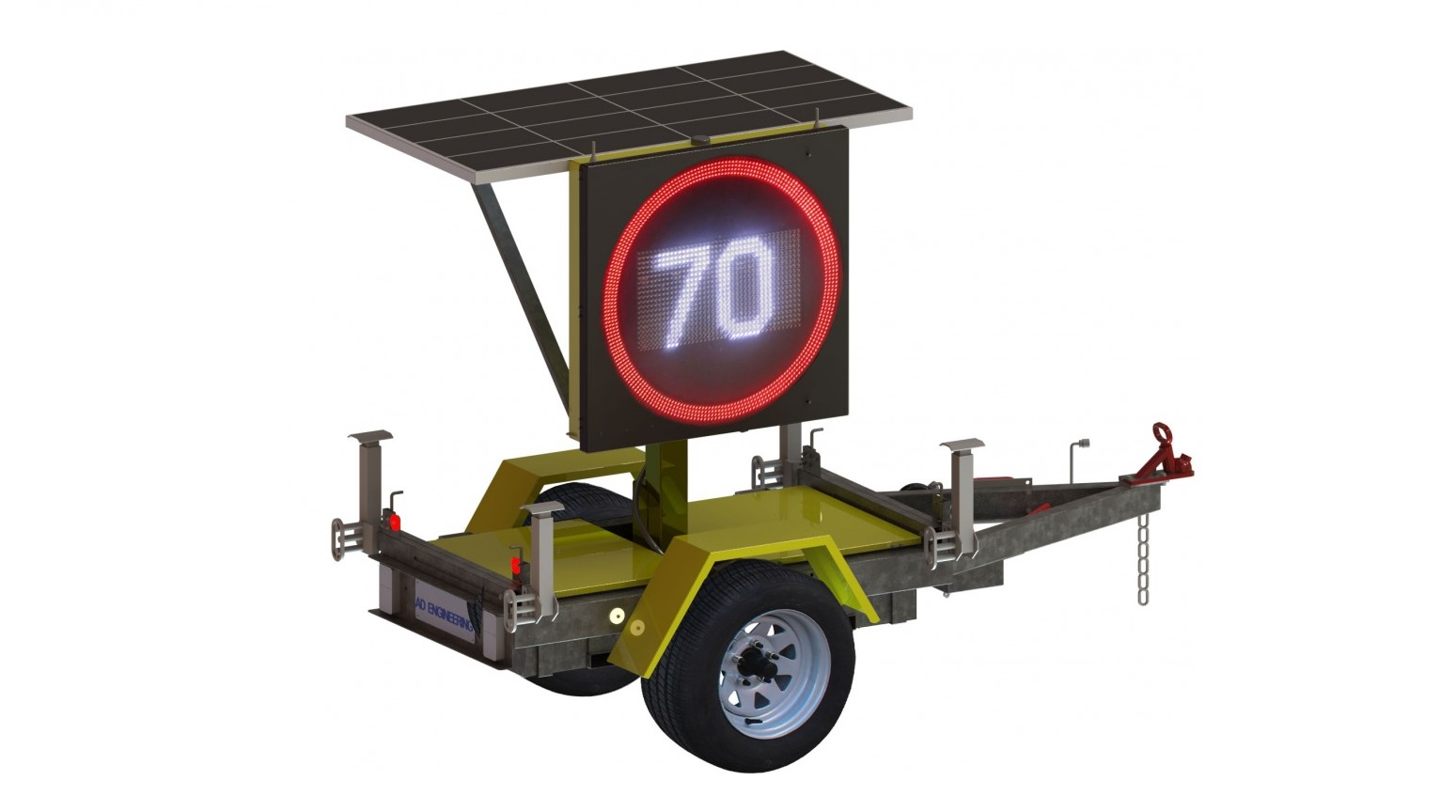 A.D. Engineering International awarded $3m contract by VicRoads for design and manufacture of 158 Trailer Mounted Electronic Variable Speed Limit Signs