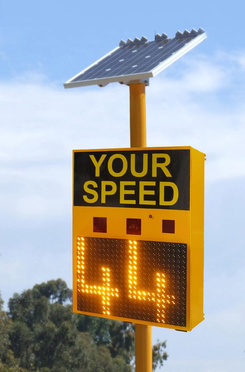 Radar Speed Displays