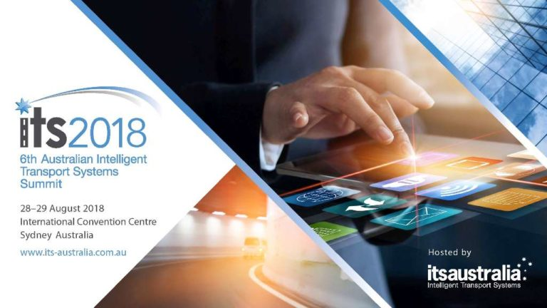 Will we see you at the 6th Australian ITS Summit 2018?