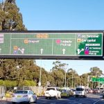 The largest full colour traffic VMS in Australia!