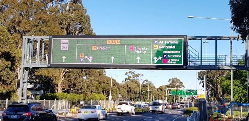The largest full colour traffic VMS in Australia!